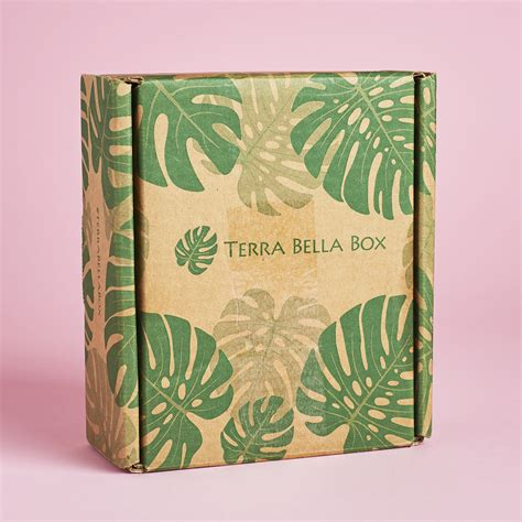 terra bella box terra bella box subscription review coupon april 2017