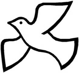 Holy Spirit Dove Outline by Holy Spirit Clip Clipart Panda Free Clipart Images