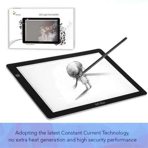 light in the box tracking xp pen a4s 18 quot led tracing light pad light box light pad