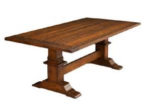 trestle dining room tables trestle dining room table