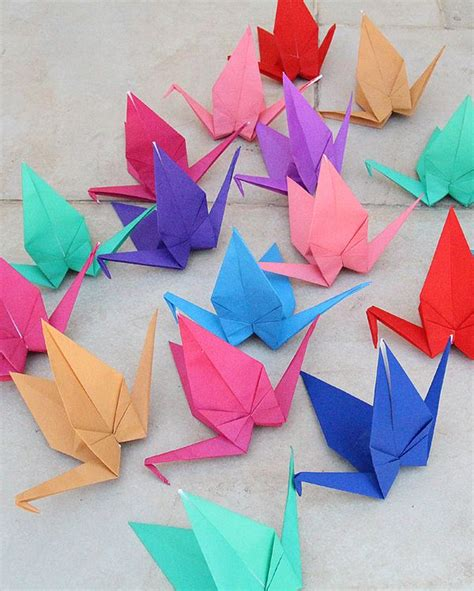 Origami For Birthday - origami cranes for birthday or your
