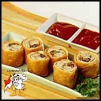 Kue Jahe Gulung 1 resep camilan lumpia gulung chef indonesia