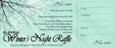 raffle ticket designs