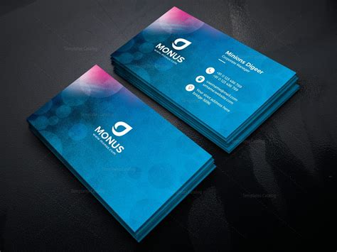Business Card Desing Template by Modern Business Card Design Template 001594