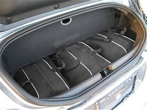 chrysler crossfire luggage chrysler crossfire custom fitted luggage bags http www