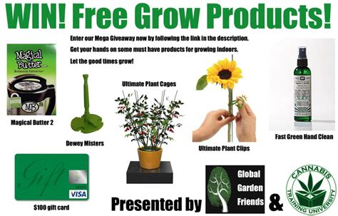 win free grow products enter now global garden