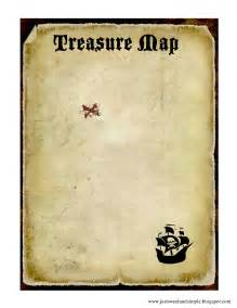 Treasure Map Invitation Template by Just Sweet And Simple Pirate