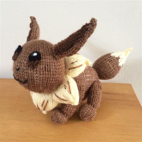 amigurumi eevee pattern eevee pokemon amigurumi knitting pattern by emma whittle