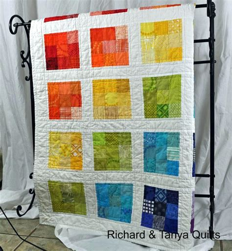 Basic Patchwork Quilt Pattern - easy beginner quilts co nnect me