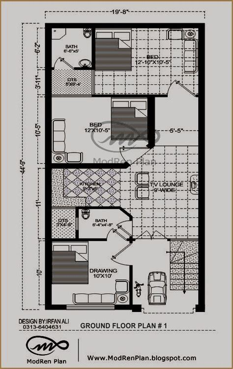 3 Marla House Design Story 3 Marla Modern House Plan Small House Plan Ideas