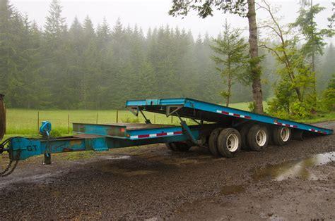 tilt bed trailers general trailer 447 25t 3 axle tilt bed