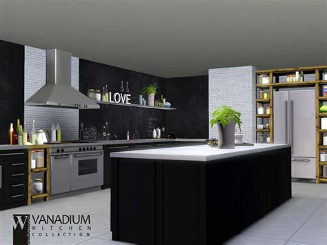 sims kitchen ideas wondymoon s vanadium kitchen