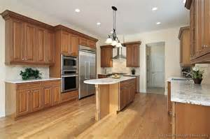 Kitchen Paint Colors With White Cabinets And Black Granite by Pictures Of Kitchens Traditional Medium Wood Cabinets