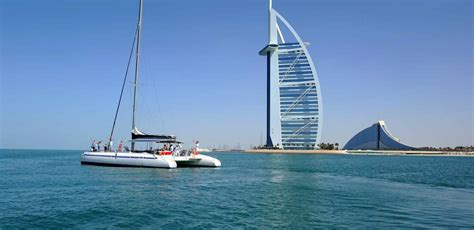 catamaran boat dubai dubai marina catamaran lunch cruise at palm jumeirah