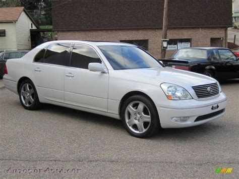 crystal ls for sale 2002 lexus ls 430 in parchment crystal 080238 autos of