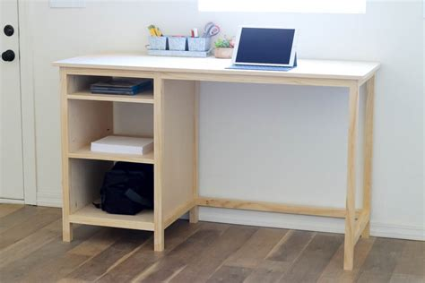 diy desk with storage diy counter height desk with storage addicted 2 diy
