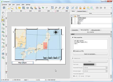 qgis tutorial japan erstellen einer karte qgis tutorials and tips