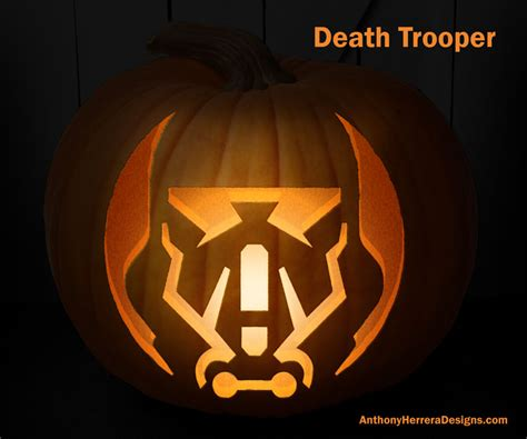 wars pumpkin templates print and carve out wars pumpkins trooper from