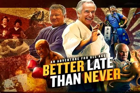 late is better than never review better late than never brioux tv