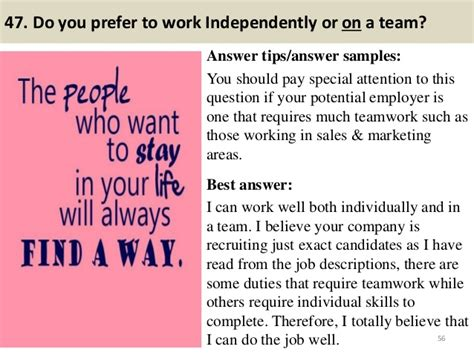 top 10 most typical interview questions and how to answer them