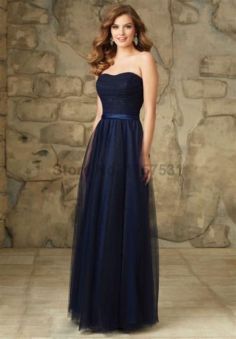 imagenes de vestidos de novia color azul cheap 2016 vestido madrinha de casamento azul marino