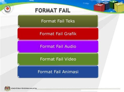 format rtf adalah slot 3 format dan saiz elemen multimedia