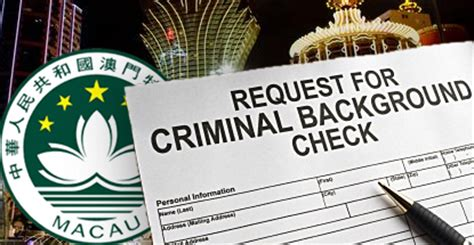 No Criminal Record Certificate China Macau To Beef Up Scrutiny Of Junket Operator Agents Casino News