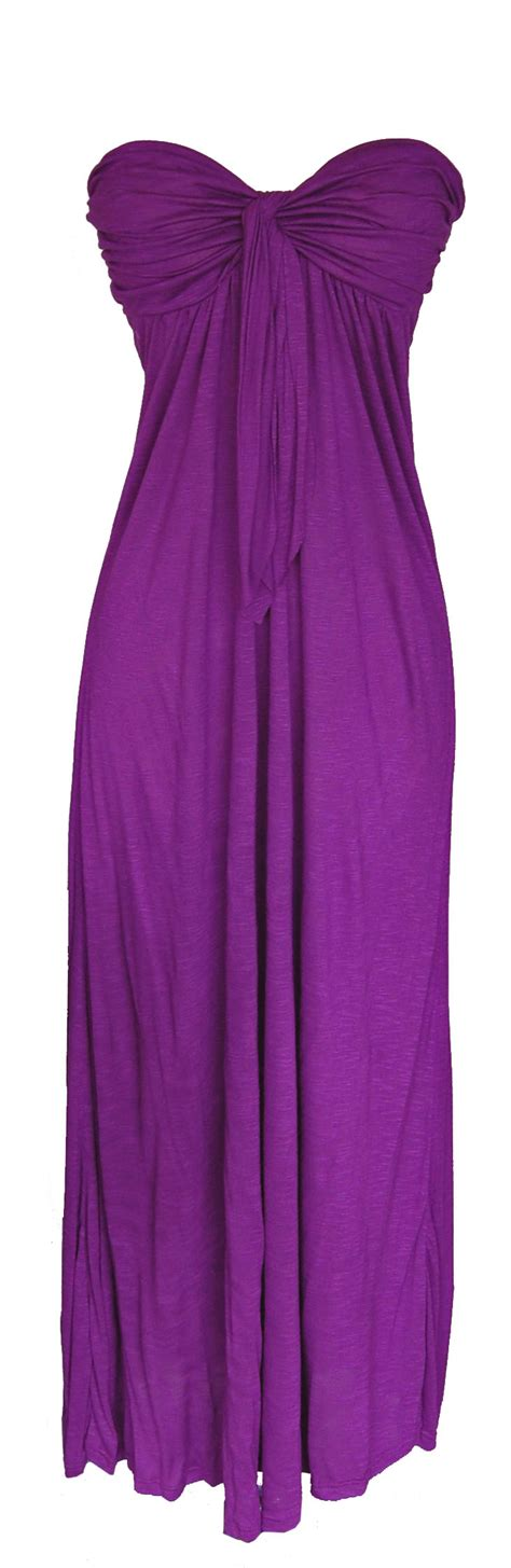 Purple Maxi Dress purple strapless maxi dress