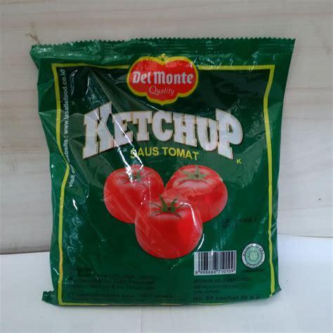 saus tomat sachet delmonte supplier bahan baku kebab