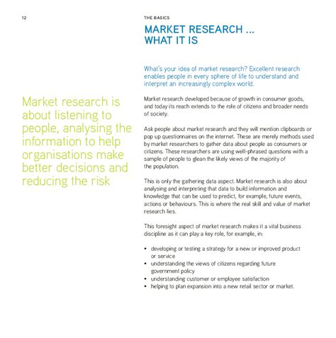marketing research brief template exle of research paper about marketing