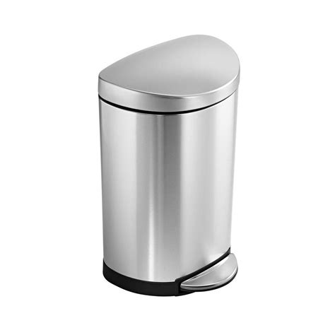 bathroom trash can ideas bathroom fresh stainless steel bathroom trash can