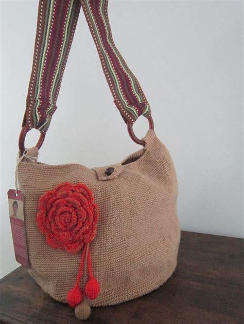 bolso para bebe tejida en crochet betty 2 bolso tejido en crochet con hilo de algod 243 n color