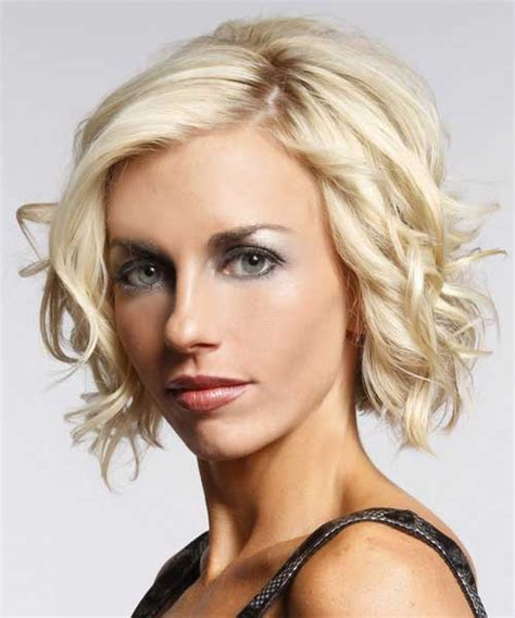 hairstyles for short blonde curly hair short haircuts for wavy hair short hairstyles 2017