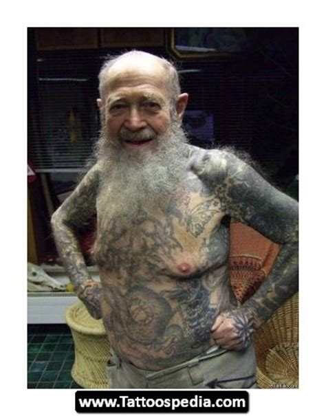 old people with tattoos with design ideas 17