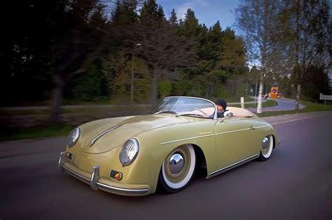 classic convertible porsche lowered classic porsche convertible transportation cars