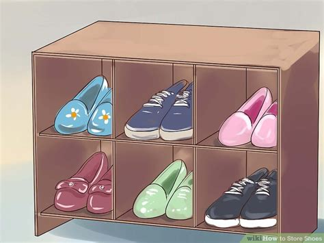 Aksesoris Sepatu Murah Fuschia Shoe Clip 1 how to store shoes 13 steps with pictures wikihow