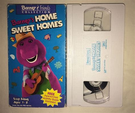 barney barneys home sweet homes vhs 1993