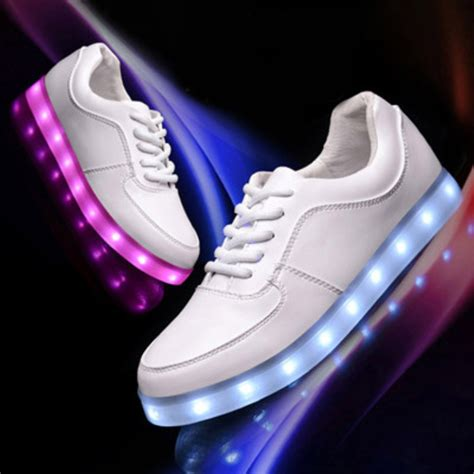 led shoes for large size stylish led light shoes for and