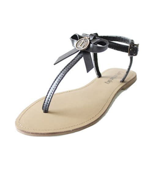 Wedges Loly loly in the sky maribel black sandals with bow loly in the sky summer 2013 collection