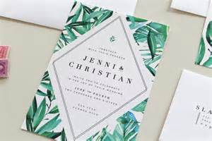 imposing tropical wedding invitations theruntime