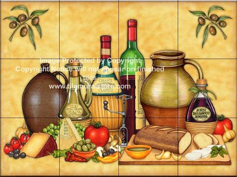 kitchen murals design decorative tile splashback kitchen tile ideas cucina