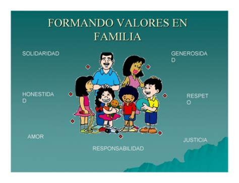 imagenes de la familia y sus valores familia valores que deben existir en una familia