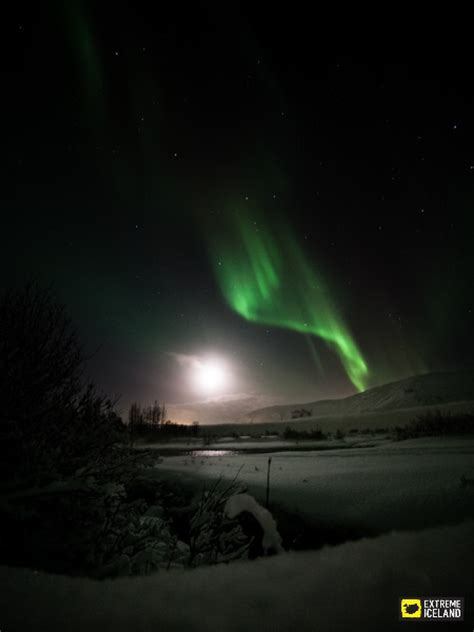 extreme iceland northern lights earth and sky caving tour and the northern lights
