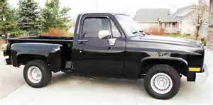 sell used 1985 chevrolet stepside 2wd in na