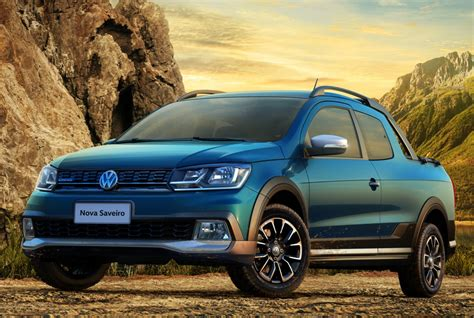 vw saveiro 2017 volkswagen saveiro revealed in brazil with a new