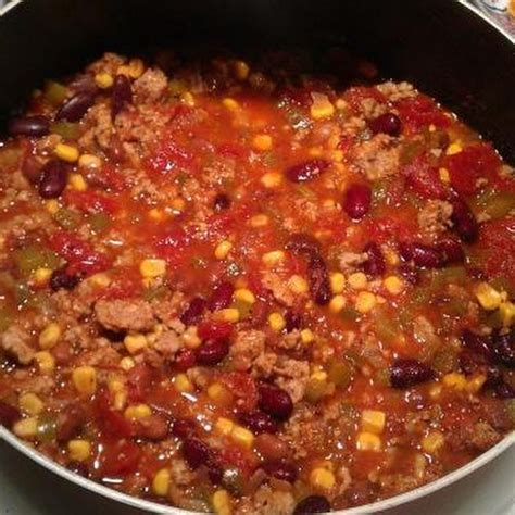 ground turkey chili iii recipe food for the soul