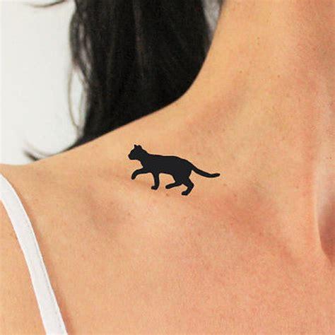 tattoo black cat silhouette black cat silhouette tattoo www imgkid com the image