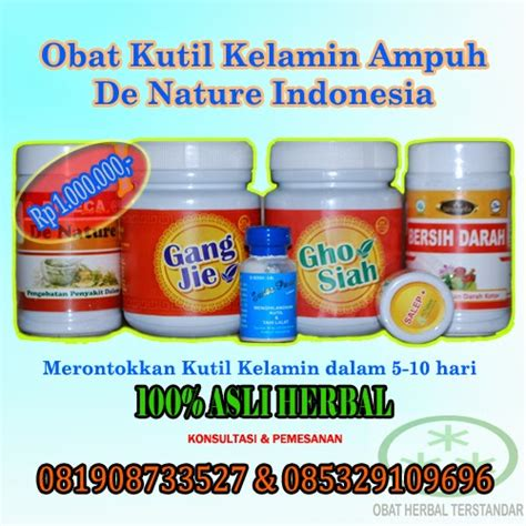 Obat Herbal De Nature obat kutil herbal de nature indonesia sembuh