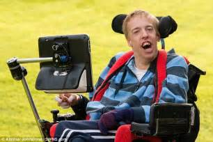 Is Being Blind A Disability the severely disabled who plays with his daily mail