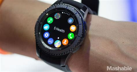 the chunky samsung gear s3 smartwatch costs more than an apple